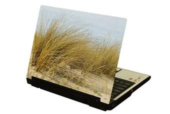 Dünenlandschaft Laptop Sticker