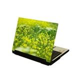 Fleurs jaunes autocollant ordinateur portable
