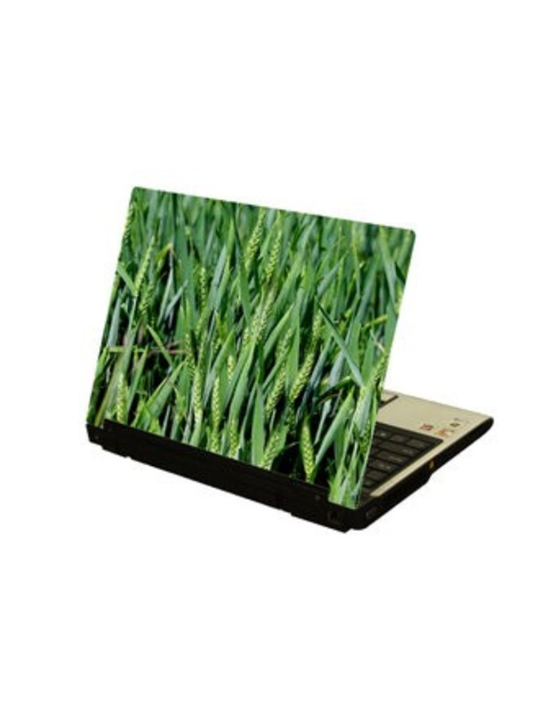 Grain field laptop Sticker