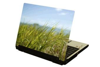 Hierba ordenador portátil pegatina