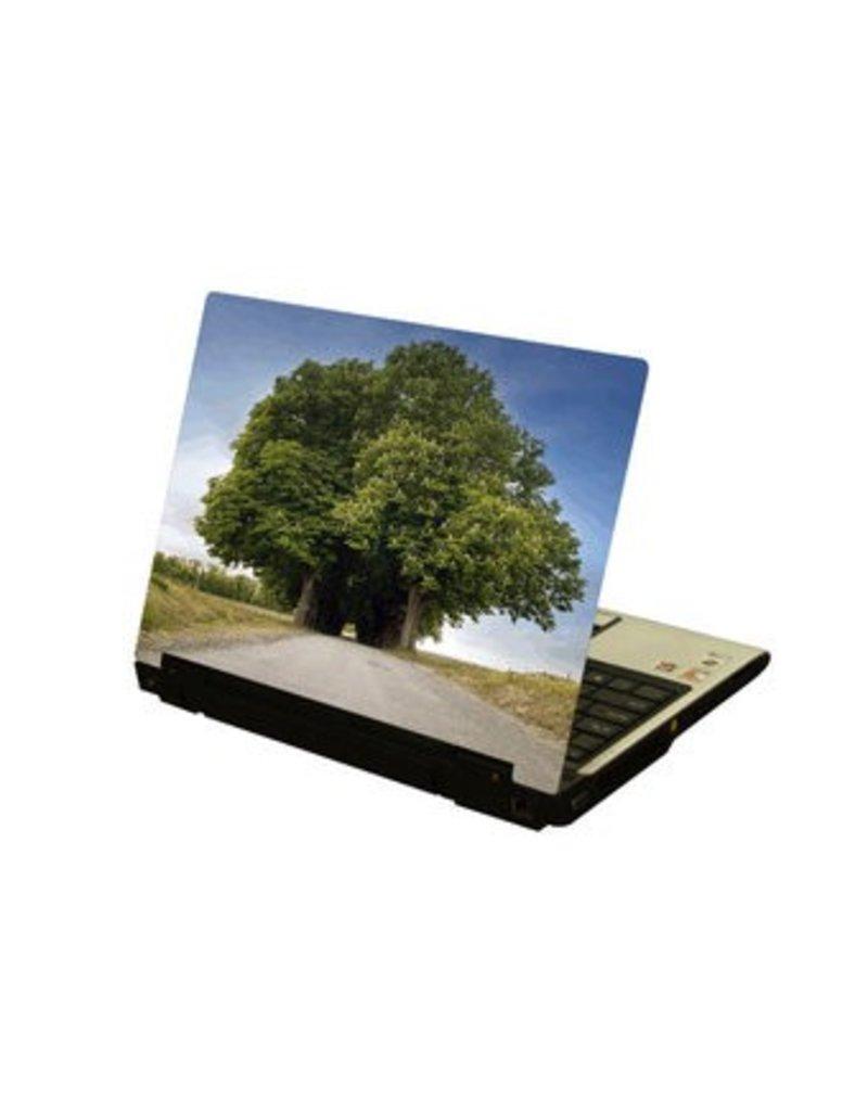 Grande árbol ordenador portátil pegatina