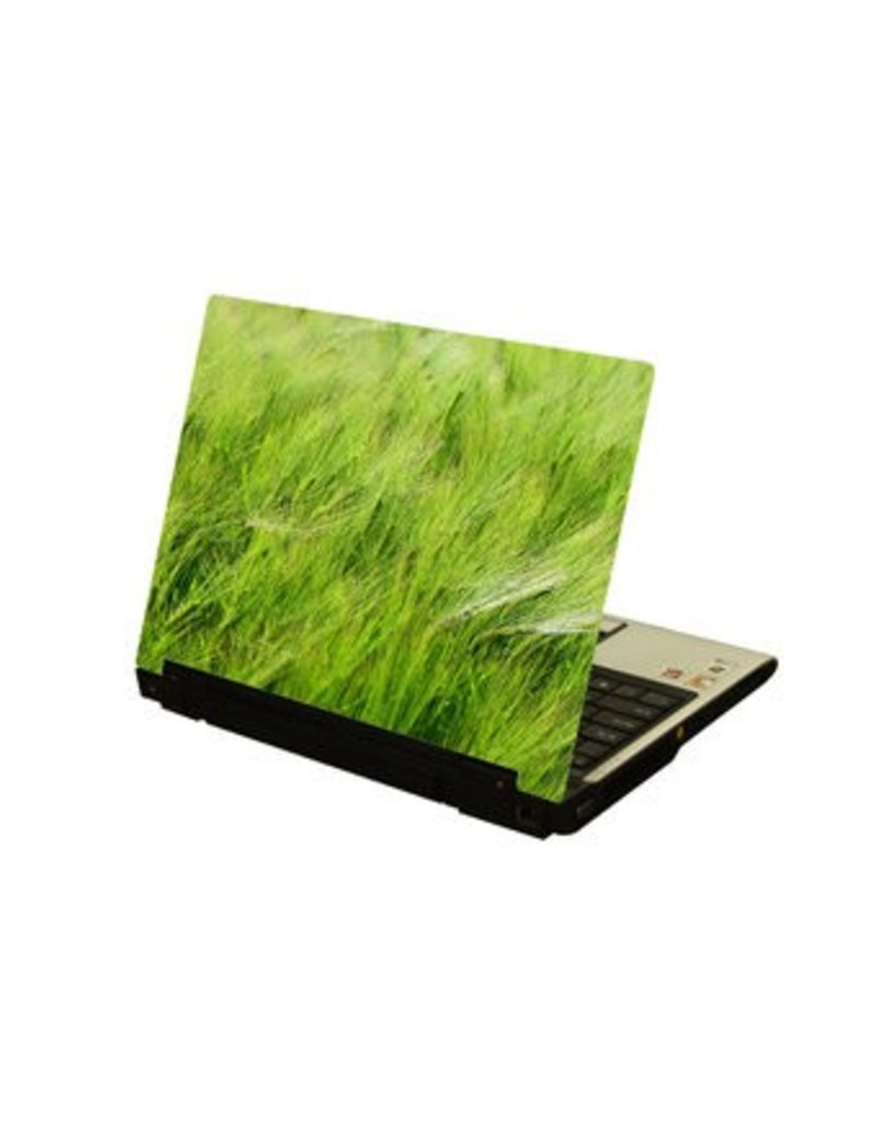 Hoog gras laptop Sticker