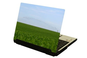 Platteland laptop Sticker