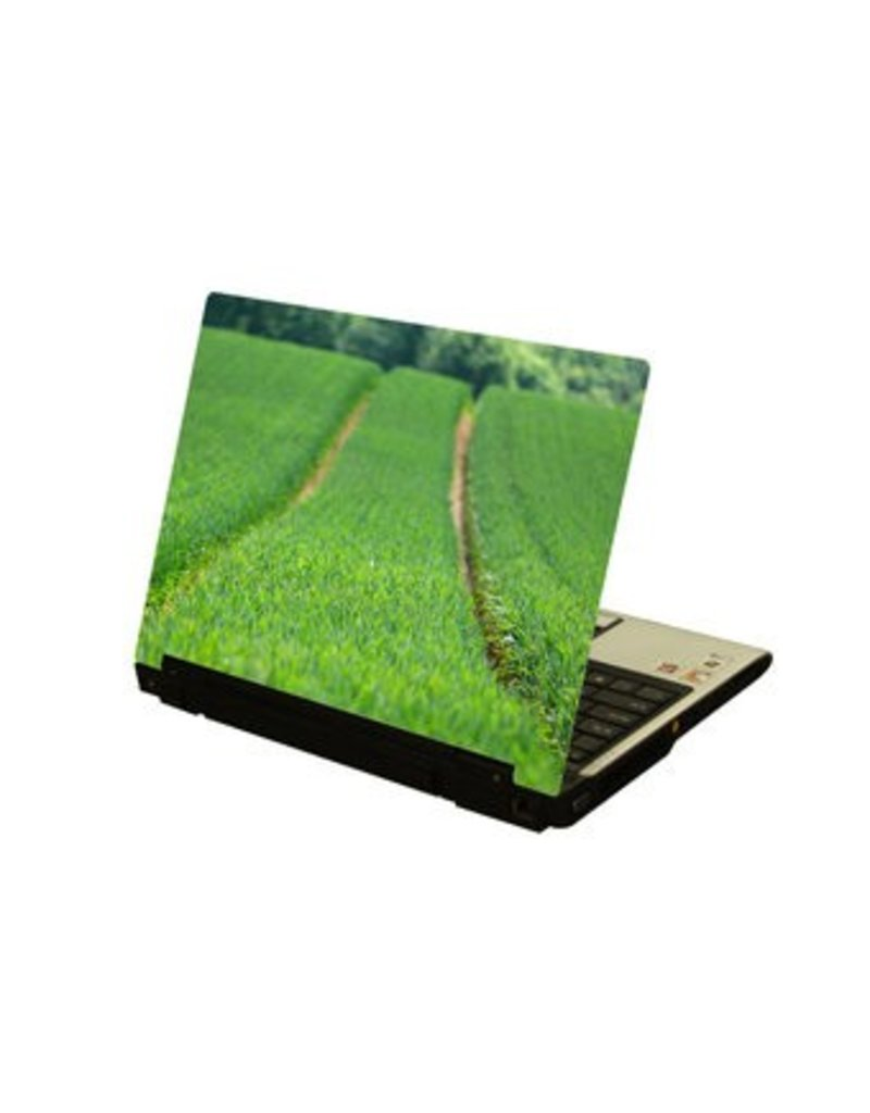 Landschaft 4 Laptop Sticker