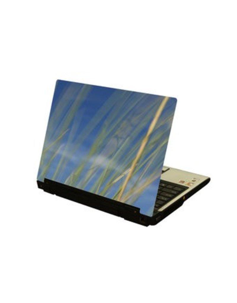 Caña ordenador portátil pegatina