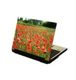 Rode bloemetjes1 laptop Sticker