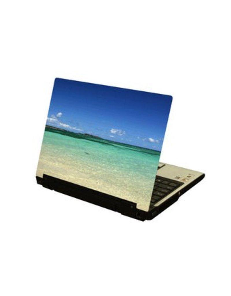 Autocollant d'ordinateur portable mer