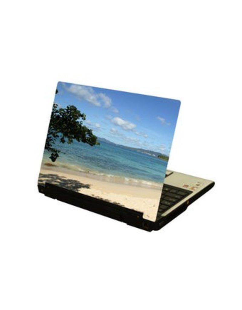 Pegatina ordenador portátil mar