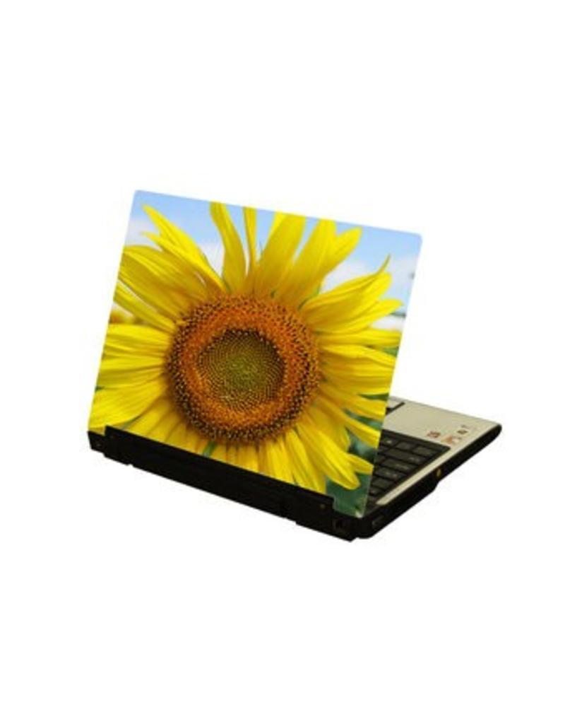 Zonnebloem laptop Sticker