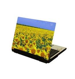 Sunflower Field Laptop Sticker
