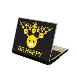 Be Happy ordenador portátil pegatina