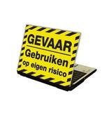 Gefahr Laptop Sticker