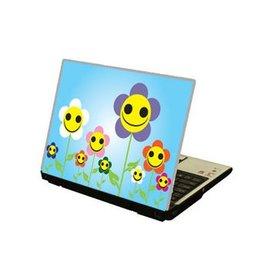 Smiling Flowers Laptop sticker