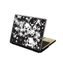 Lachende Gesichter Laptop Sticker
