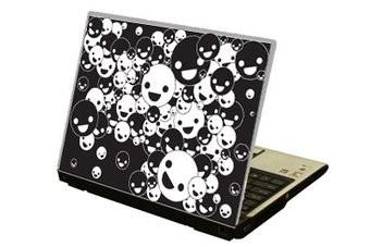 Lachende bollen Laptop Sticker