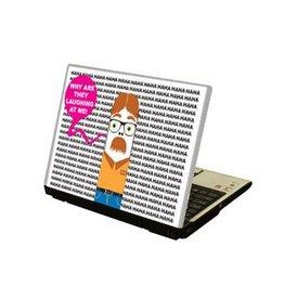 Geek autocollant laptop