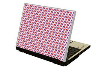 Pattern1 Laptop sticker