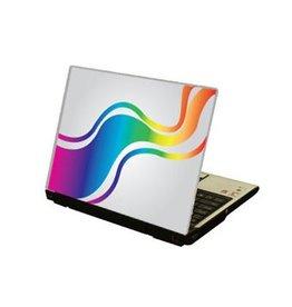 Rainbow colours Laptop sticker
