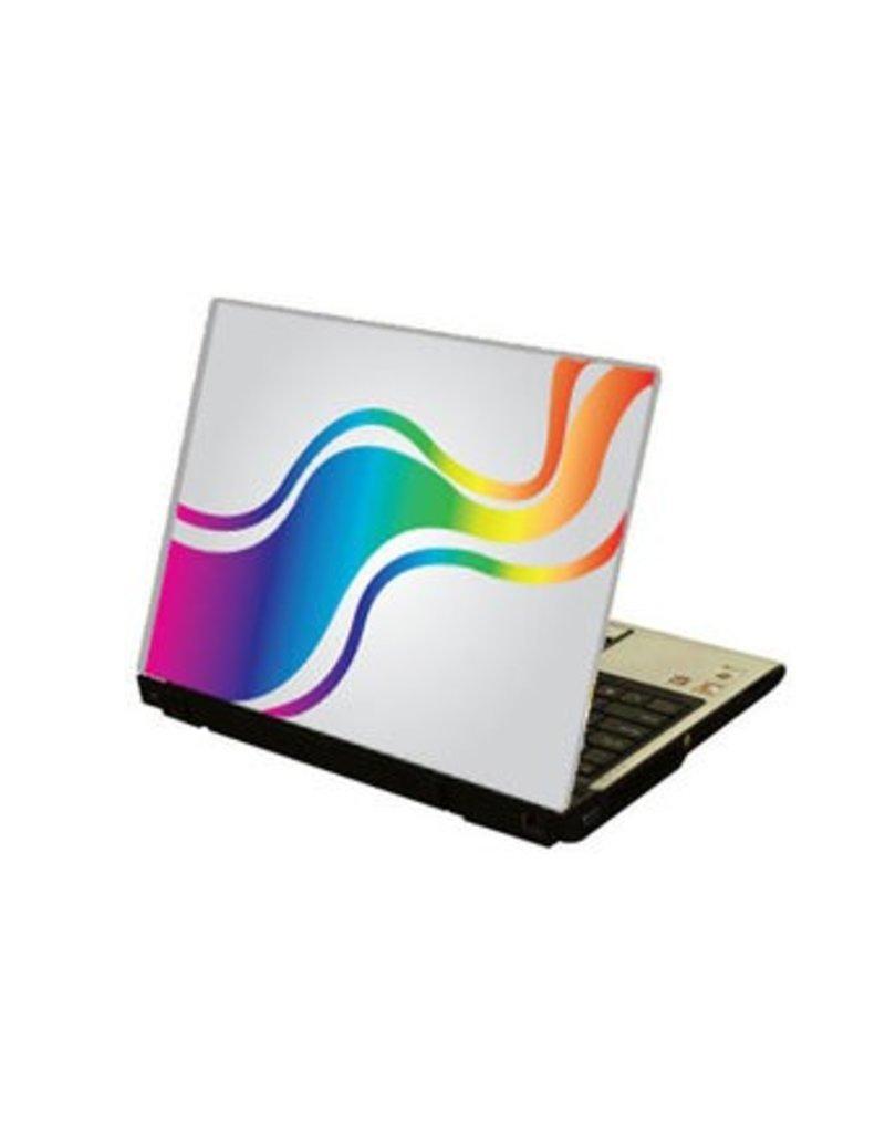 Regenboog Kleuren Laptop sticker