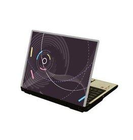 Abstracto ordenador portátil pegatina 1
