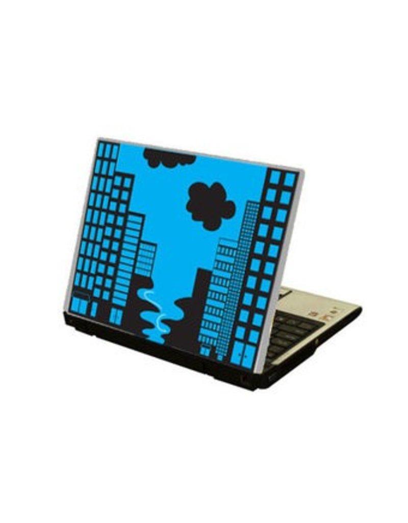 Stadt Laptop Sticker