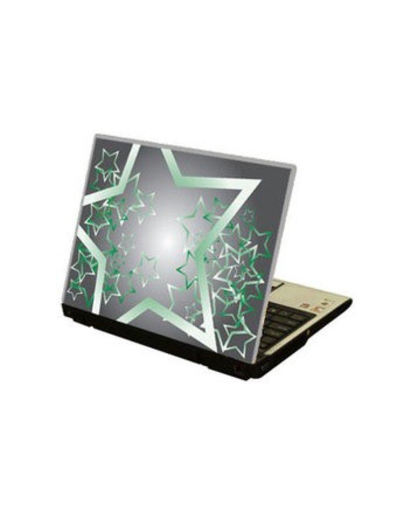 Estrella ordenador portátil pegatina