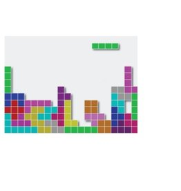 Tetris pegatina portátil