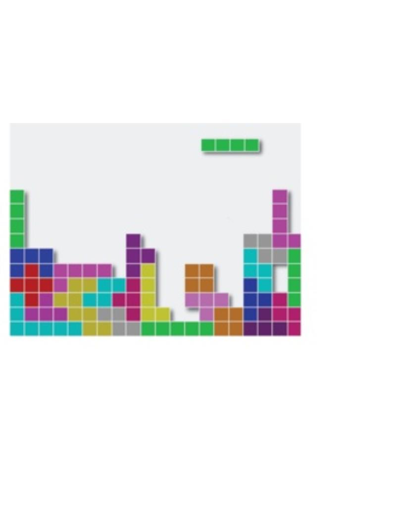 Tetris  autocollant laptop