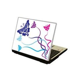 Mariposa ordenador portátil pegatina