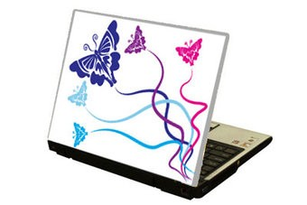 Butterflies Laptop sticker