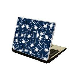 Oficina ordenador portátil pegatina