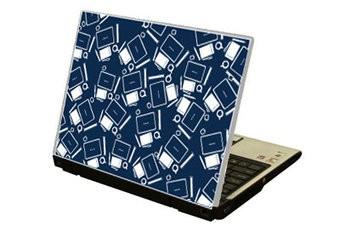 Fournitures de bureau autocollant ordinateur portable