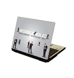 Workaholic Laptop Sticker