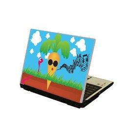 Zanahoria ordenador portátil pegatina