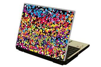 Confettie Laptop sticker