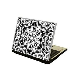 Space tunnel laptop sticker