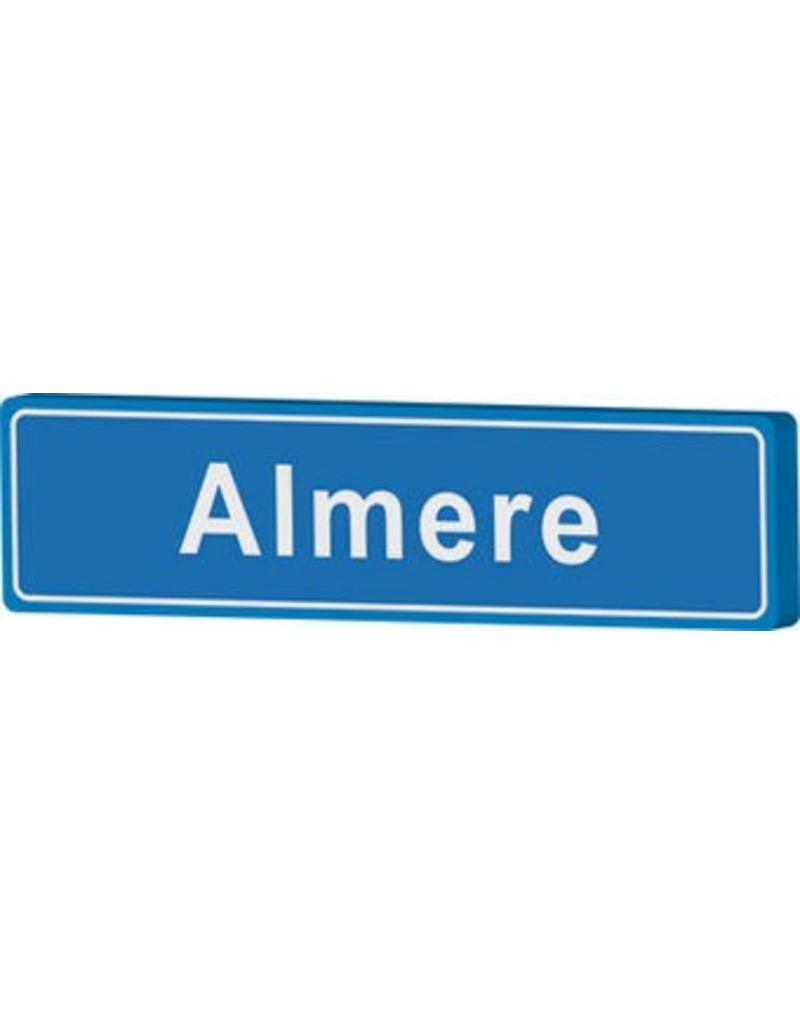 Almere place name sign