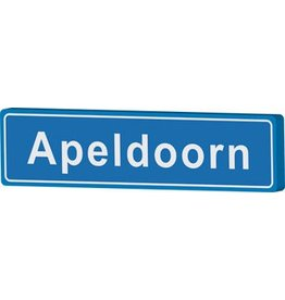Apeldoorn place name sign