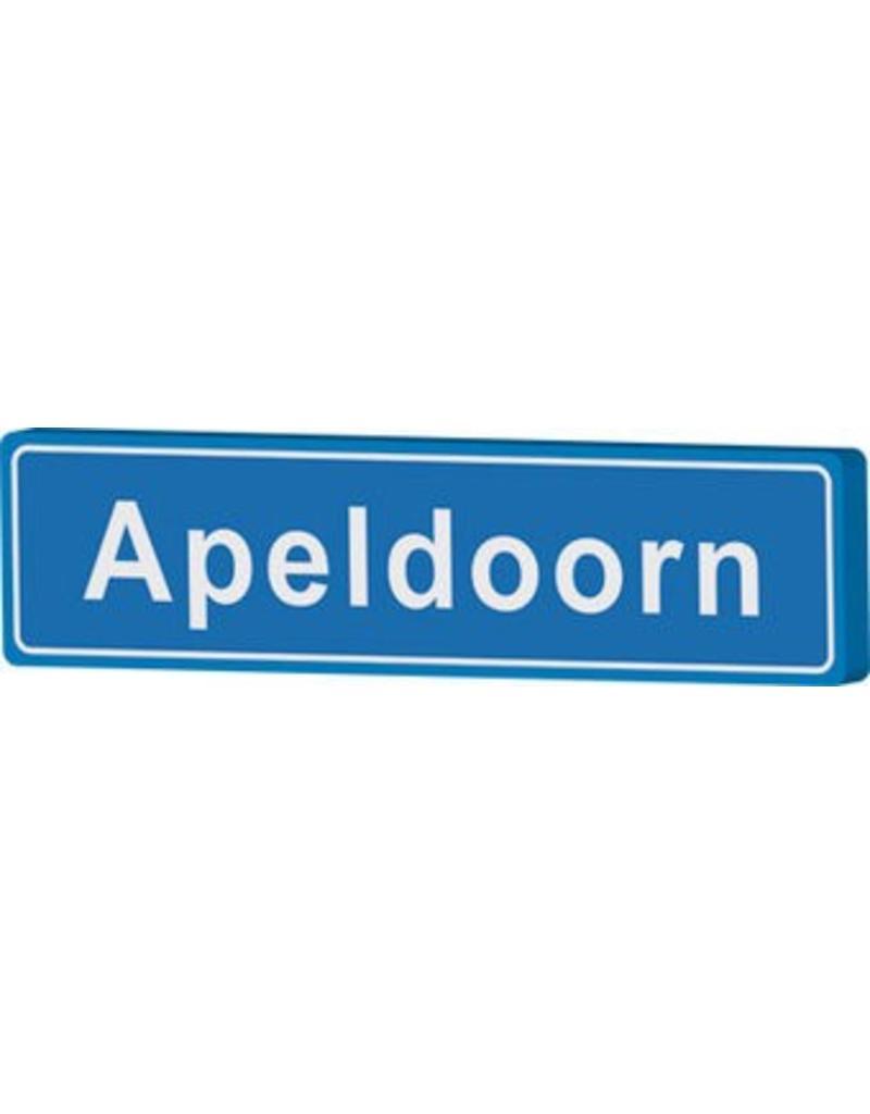 Apeldoorn place name sign