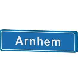 Arnhem place name sign