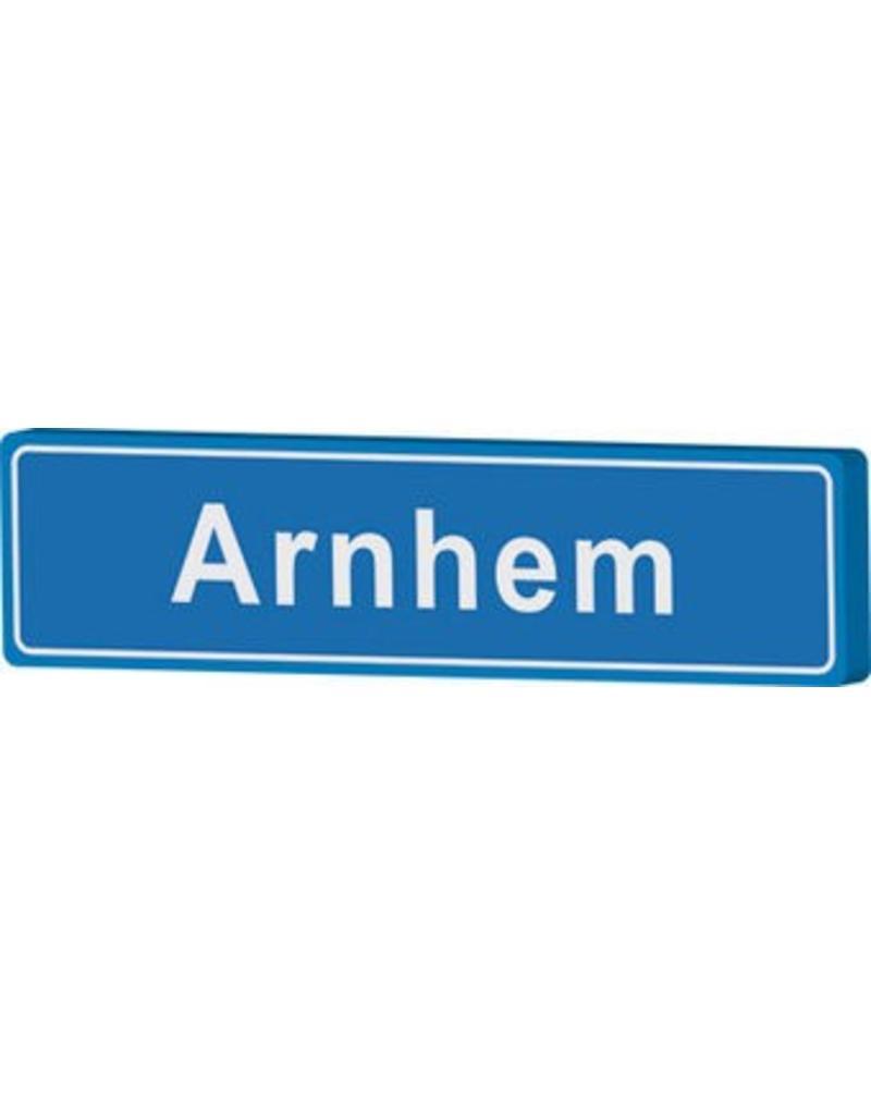 Arnhem cartel de entrada ciudad