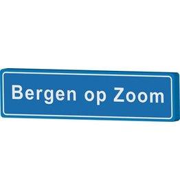 Bergen op Zoom Ortsschild