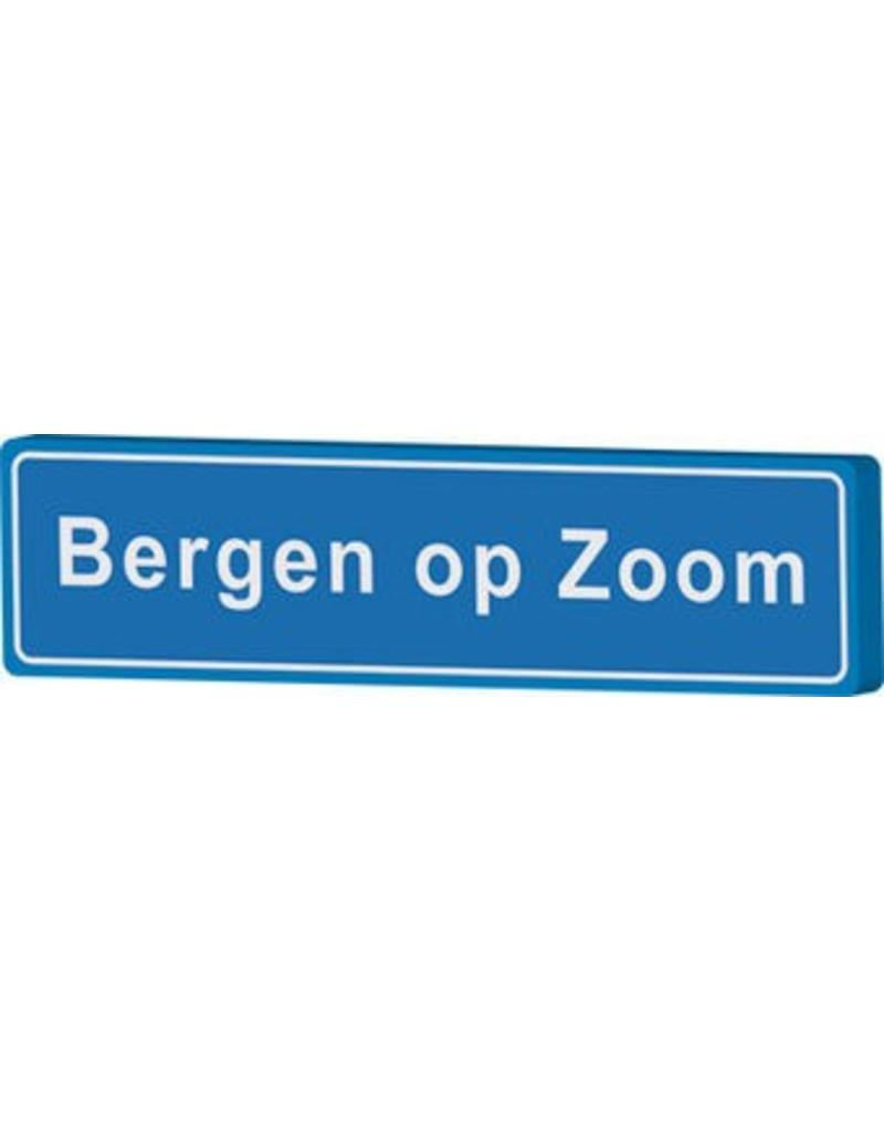 Bergen op Zoom place name sign