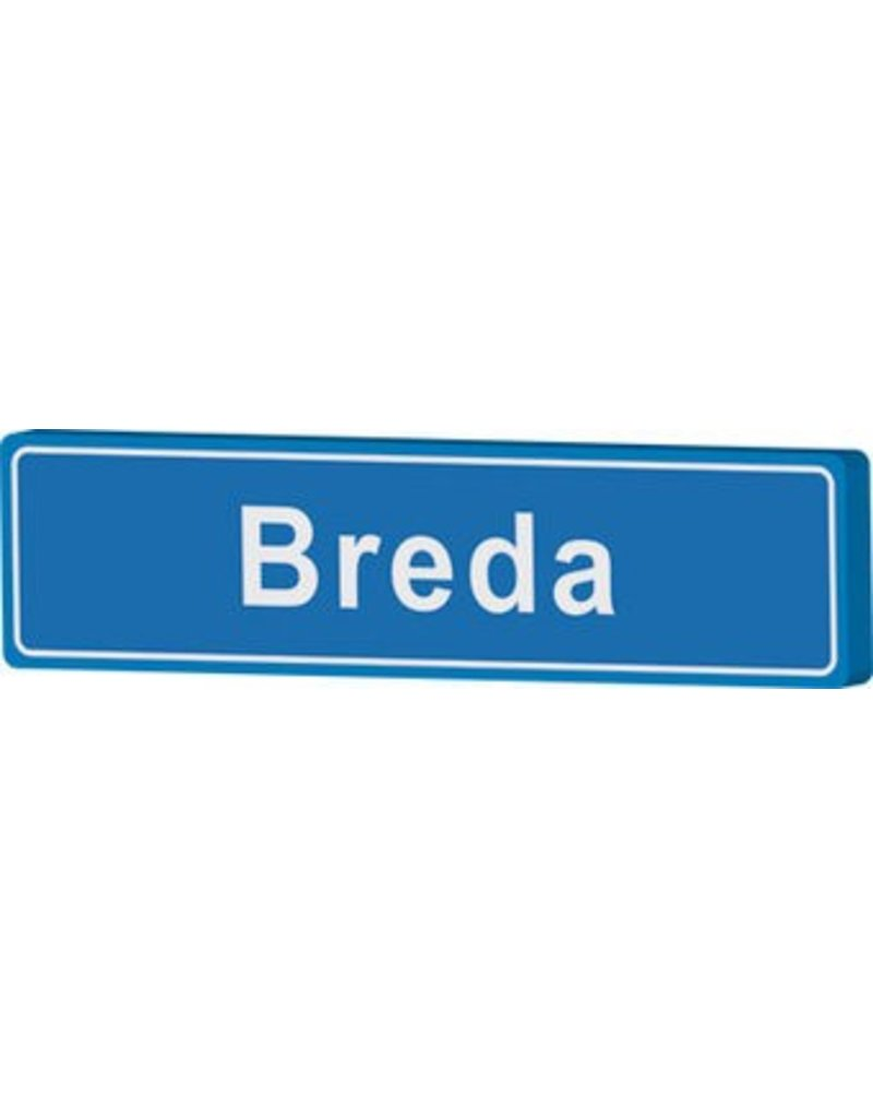 Breda place name sign