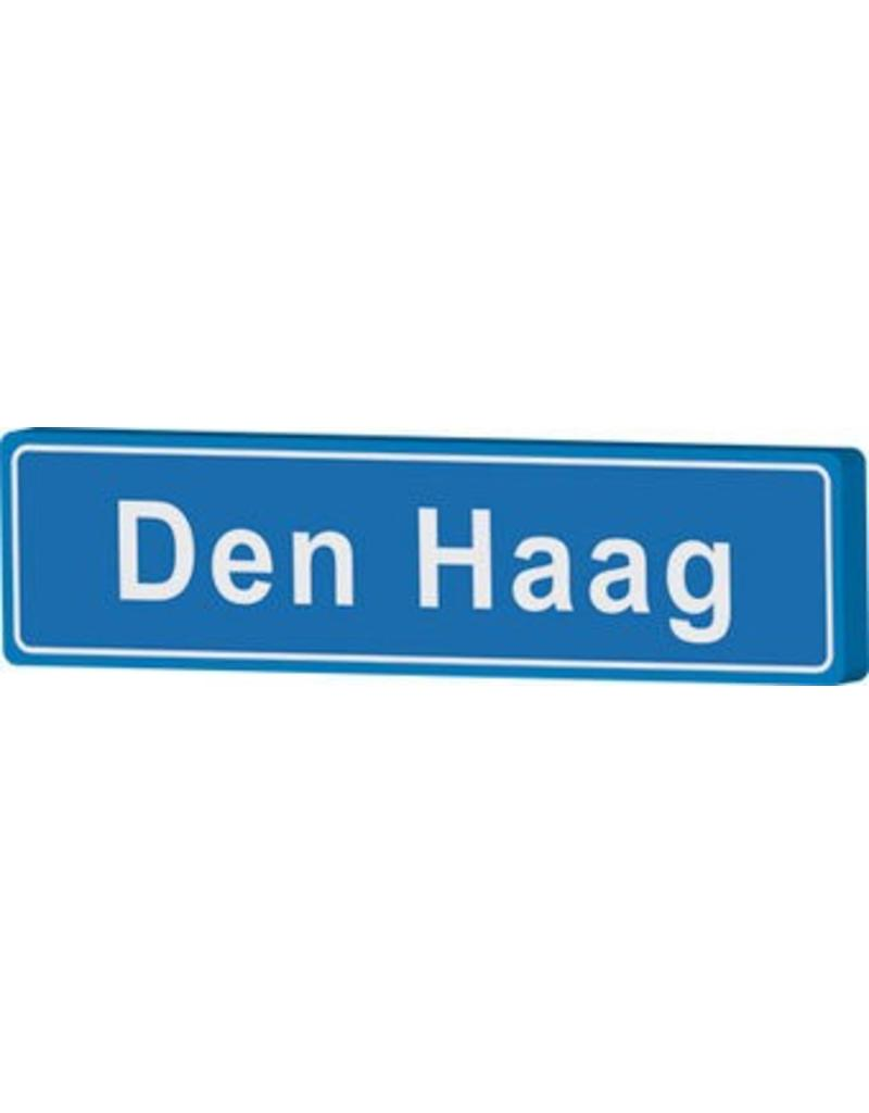 Den Haag place name sign