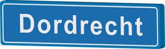 Dordrecht place name sign