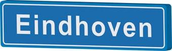 Eindhoven panneau nom de ville