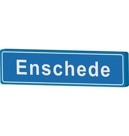 Enschede cartel de entrada ciudad