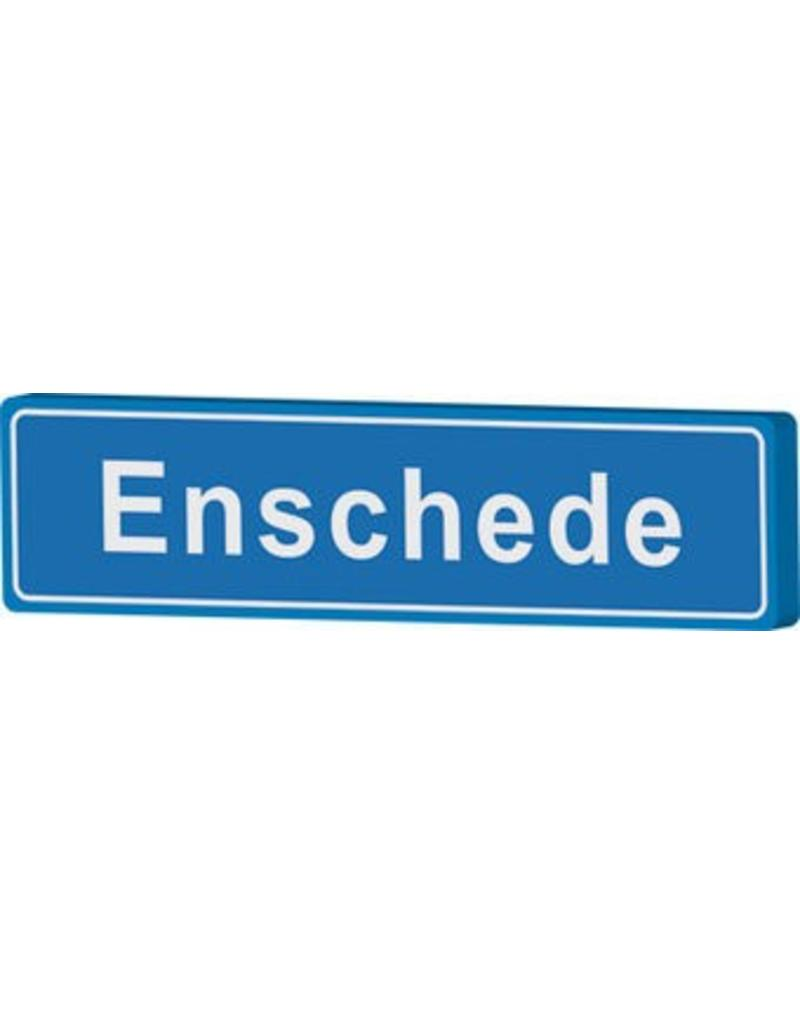 Enschede panneau nom de ville