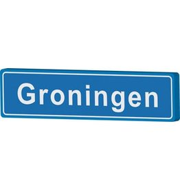 Groningen place name sign